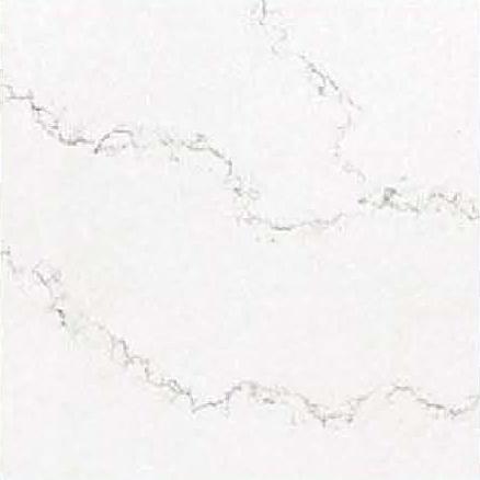 JH-CA108 Calacatta White Quartz Slab Surface