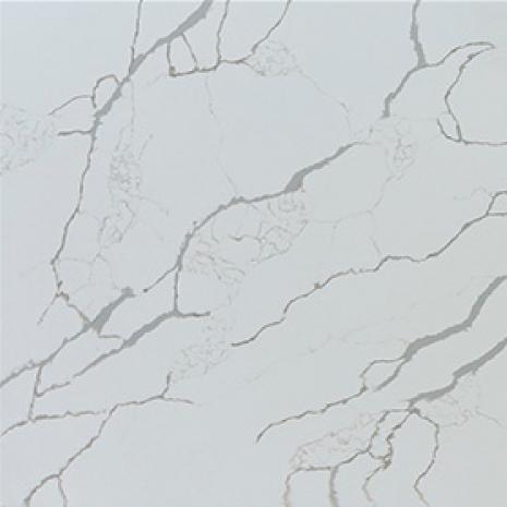 JH-CA116 Calacatta Venatto Calacatta White Quartz Slab Surface