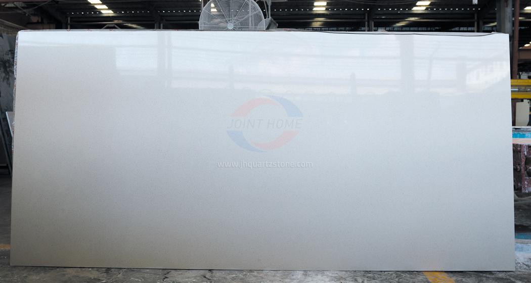 Muscat White Kitchen Countertops Quantum Quartz Stone White Color Quartz Slab