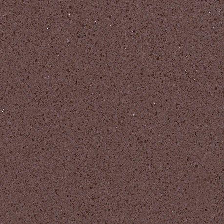 JH-PC007 South Africa Dark Brown Quartz Slab Surface