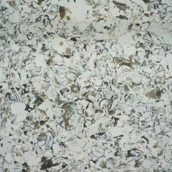 JH-VE018 Greed Land Quartz Slab Surface 1