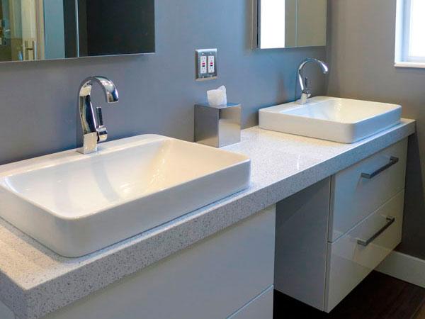 Whitney Quartz Vanity Bathroom Countertop