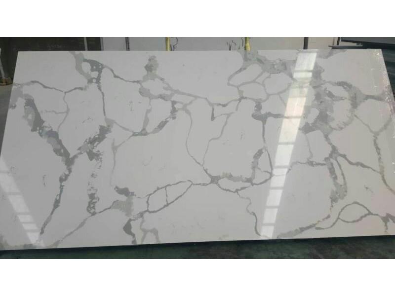 Best Price Calacatta White Quartz Stone Slabs
