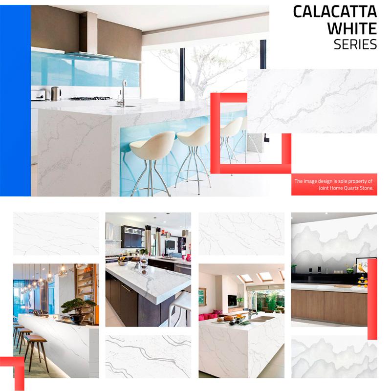 Calacatta White Color Series Collections (Quartz Stone Blog 2020 Oct. Report) Quartz Stone Blog 3