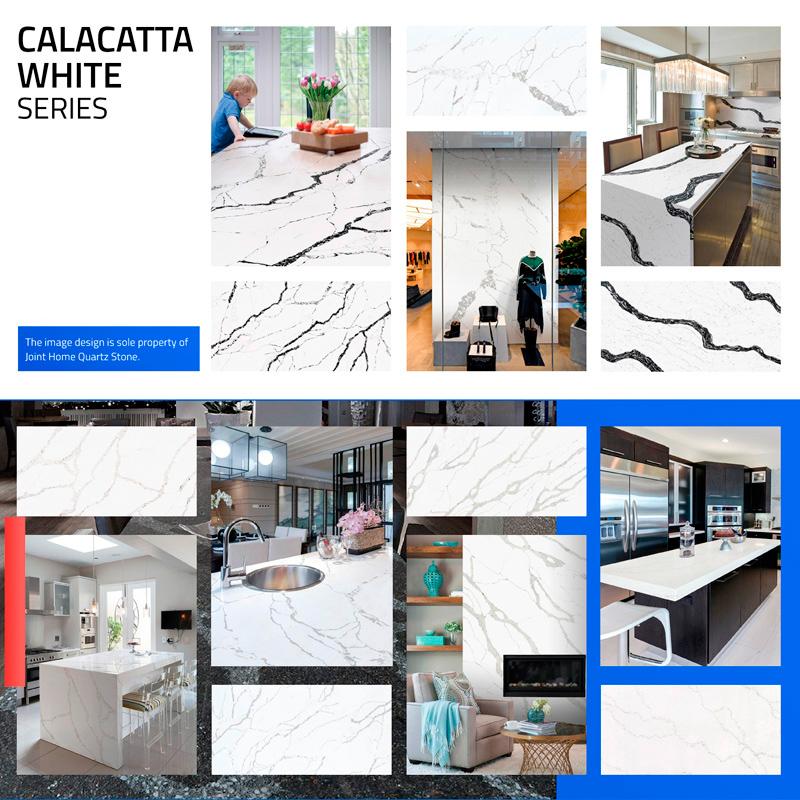 Calacatta White Color Series Collections (Quartz Stone Blog 2020 Oct. Report) Quartz Stone Blog 2