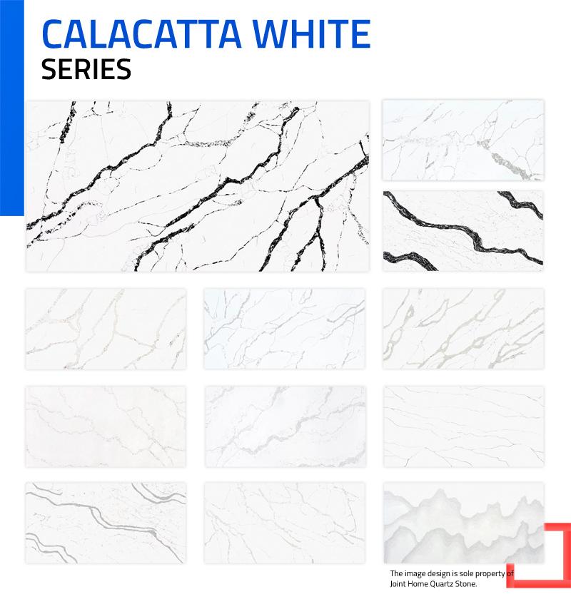 Calacatta White Color Series Collections (Quartz Stone Blog 2020 Oct. Report) Quartz Stone Blog 1