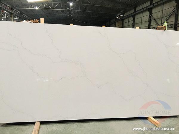 Calacatta White Quartz Countertops 1