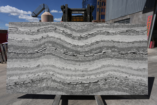 Good Price Grey Quartz Stone Slab For Kitchen Countertops