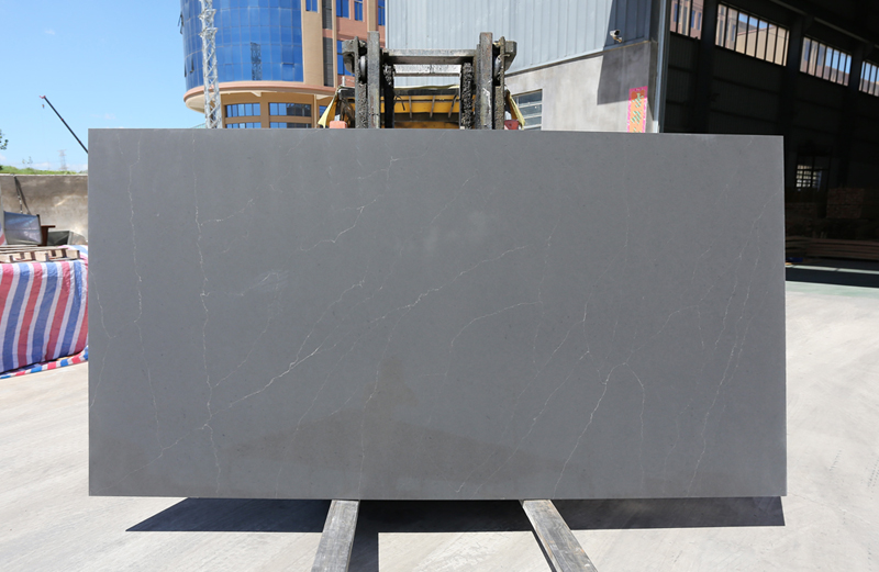 Chinese High Quality Grey Quartz Slab Countertops