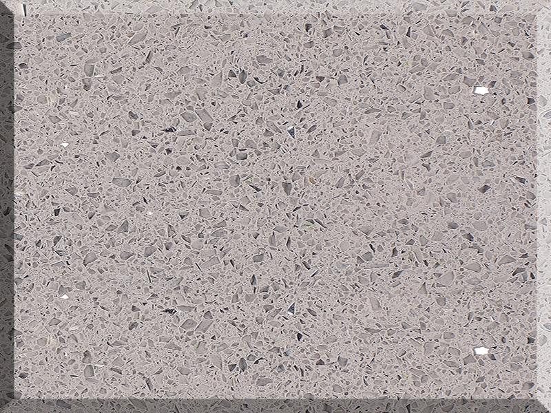 Chinese Crystal Grey Quartz Stone Cost 1