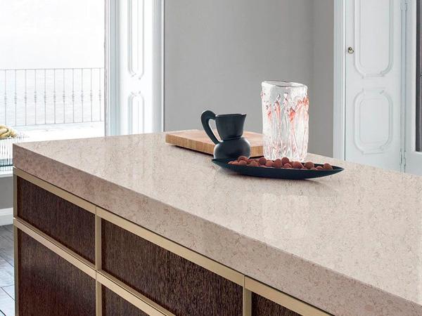 Grey Color Quartz Kitchen Countertops Cost