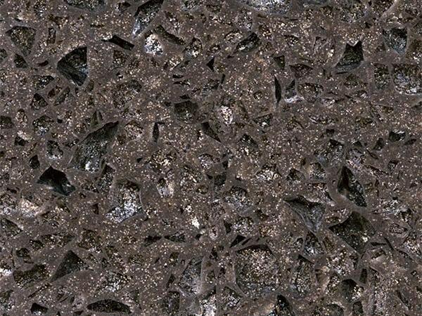 Crystal Shining Dark Grey Quartz Slabs Near Me