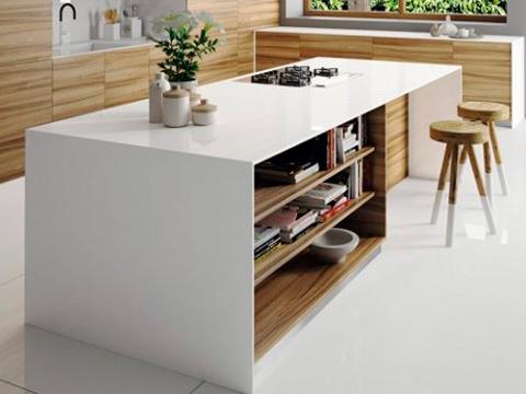 Pure White Caesarstone Statuario Nuvo Quartz