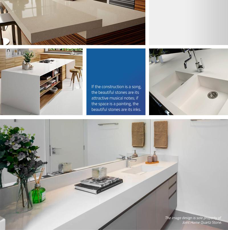 Pure White Color Quartz Surface (Quartz Stone Blog 2020 Nov. Report) Quartz Stone Blog 4