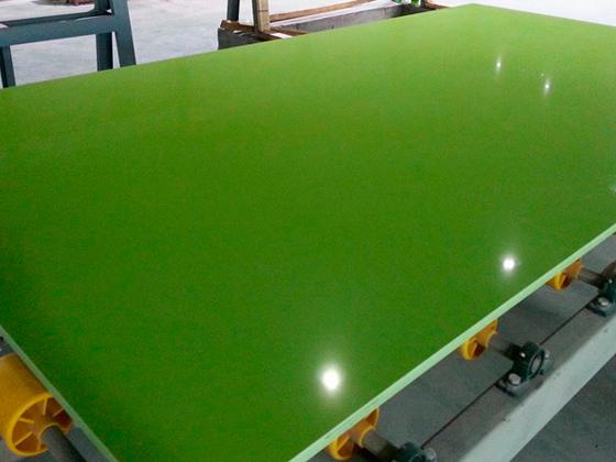 China Emerald Pure Green Quartzite Slab Factory 1