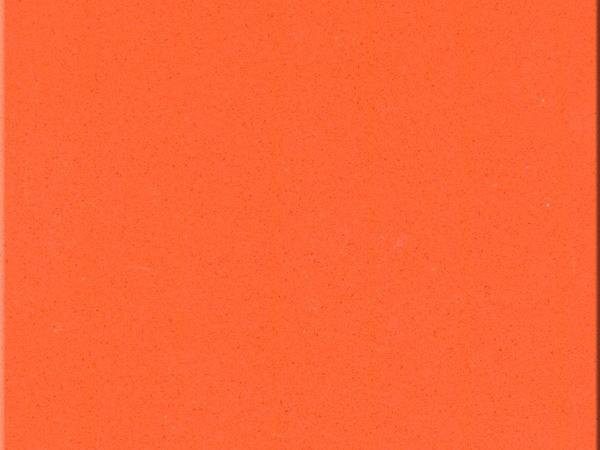 China Pure Orange Color Cheap Quartz Slab Countertops Near Me