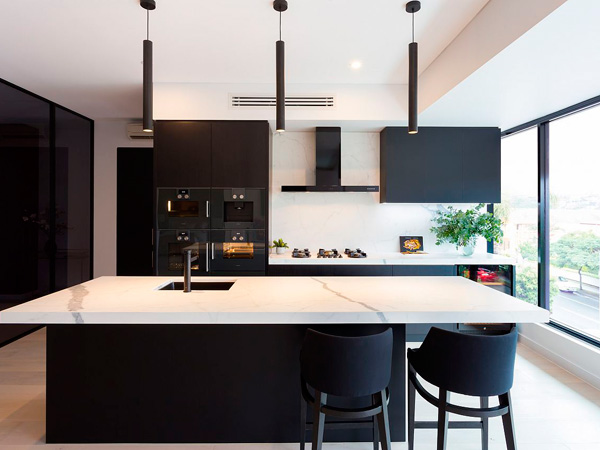 Quartz Kitchen Top Prefab Quartz Countertops