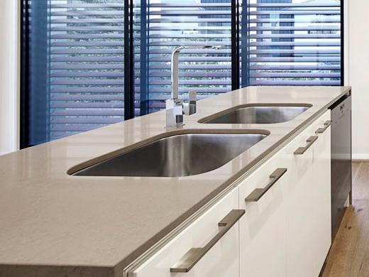 Silestone Lusso Quartz Bathroom Countertops