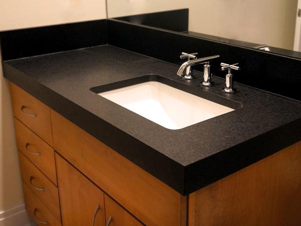 Quartz Bathroom Countertops With Sink 1