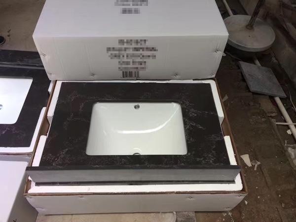 China Engineered Quartz Vanity Tops Supplier