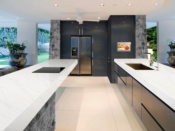 Quartz Kitchen Countertops - Customized and Unique Design