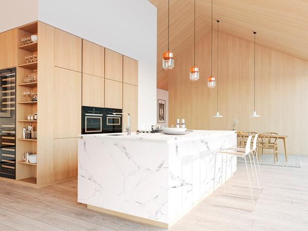 China Quartz Kitchen Worktops Supplier And Manufacturer
