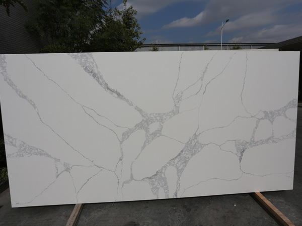 Calacatta Nuvo Quartz Slabs China Suppliers And Manufacturers
