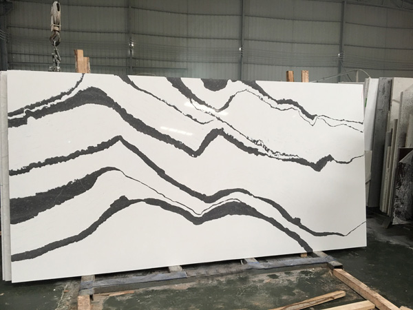 High Quality Caesarstone Calacatta Nuvo Quartz Slabs Suppliers
