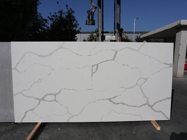 China Caesarstone Calacatta Nuvo Quartz