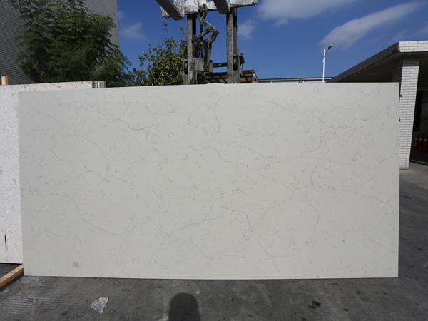 China Caesarstone Calacatta Nuvo Quartz Slabs