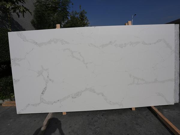 Silestone Bianco Calacatta Quartz Slabs Factory In China 1