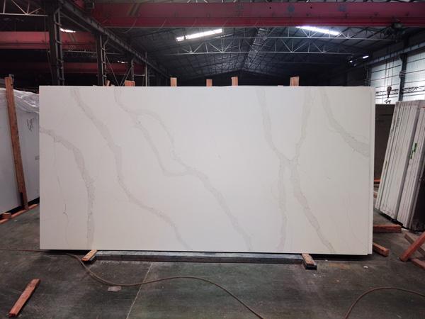 Silestone Classic Calacatta Quartz Slabs Factory In China 1