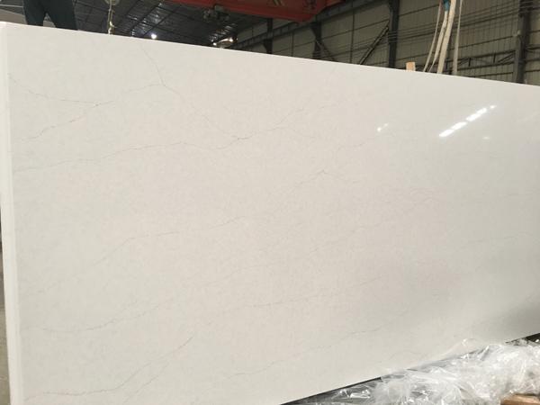Calacatta Trento Quartz Slabs Factory In China