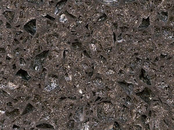 Crystal Shining Dark Grey Quartz Slabs With High Quality And Best Cheap Price