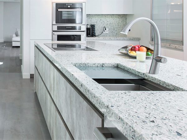 Crystal White Quartz Countertops With High Quality And Best Cheap Price