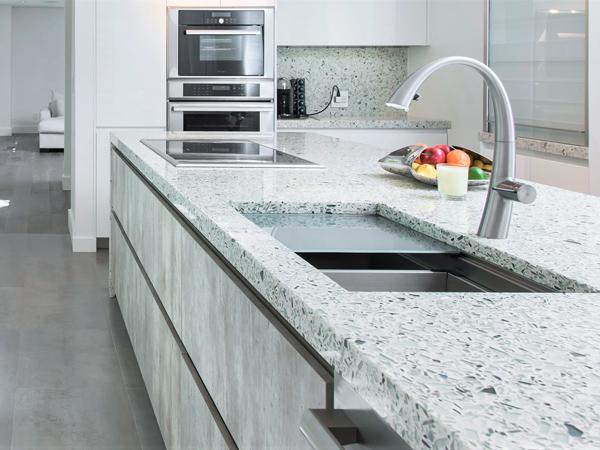 Crystal White Quartz Stone With 2cm 3cm Jumbo Size Quartz Slabs