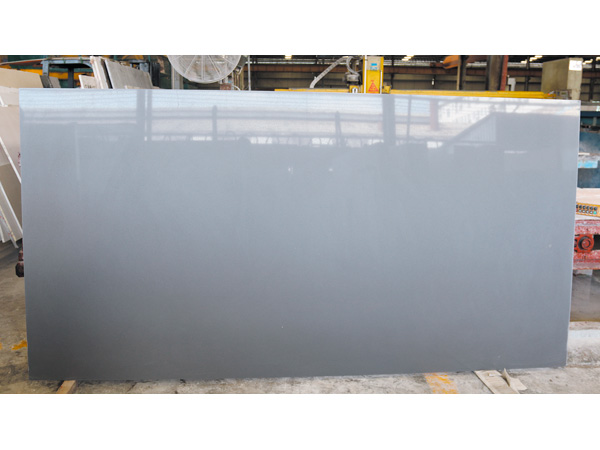 China Grey Quartz Stone Slabs With 2cm 3cm Thickness