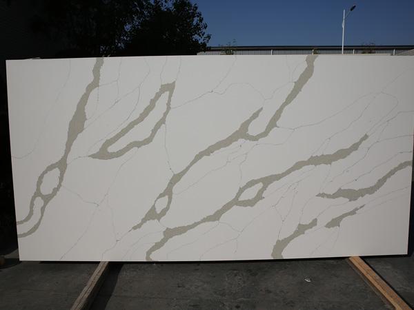 Calacatta Montage Quartz Stone Slabs For Countertops