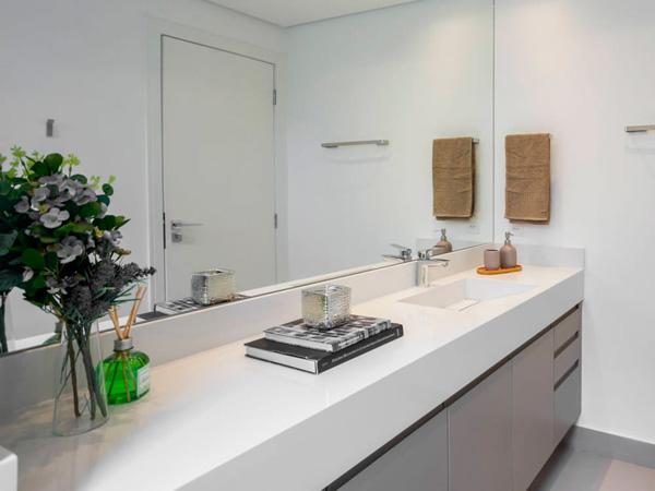 Alaska Kashmir White Quartz Bathroom Vanity Tops