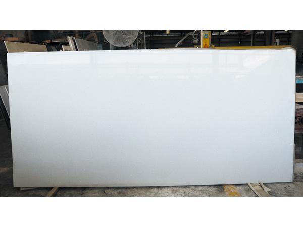 Sky White Quartz Artificial Manmade Engineered Stone Slabs