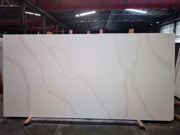 Calacata Venato Calacatta Quartz Artificial Stone Tile Slabs