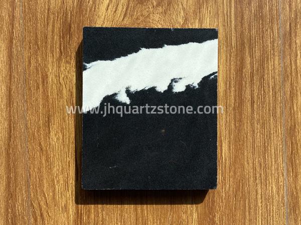 Free Sample Calacatta Calacata Black Quartz Stone Slabs