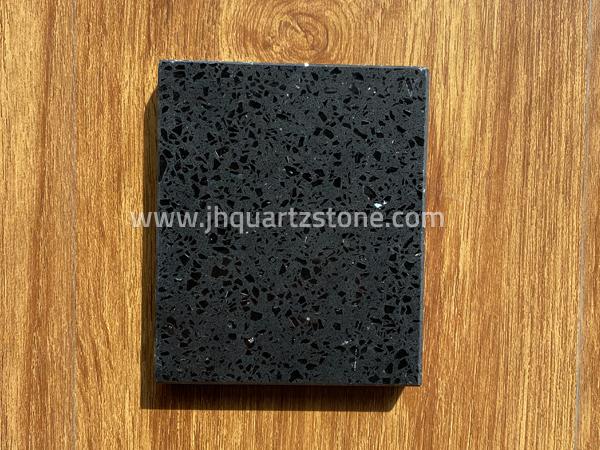 Crystal Dark Light Grey Quartz Slab Free Samples