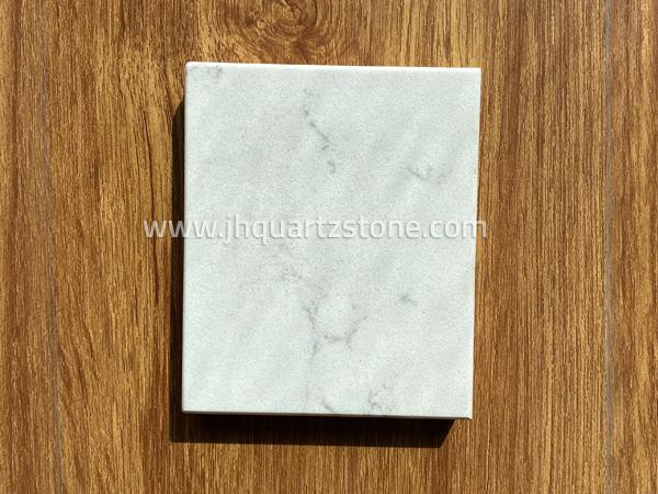 Carrara Cloud White Quartz Stone Slabs Free Samples