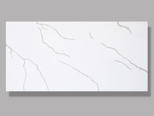 China Calacatta Classic Quartz Manmade Stone Tiles Slabs