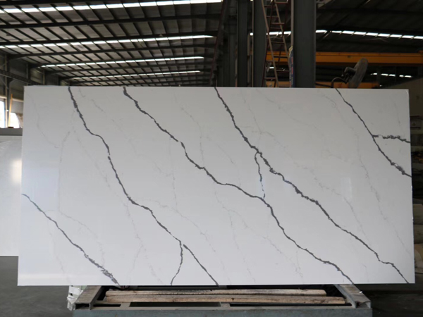 China Calacatta Venato Cimstone Pure Quartz Stone Slabs