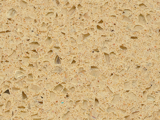 Cheap Cost Starfish Beige Quartz Stone Slabs