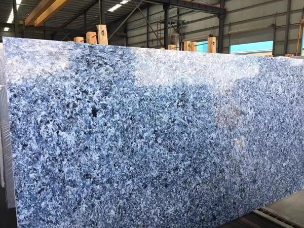 Sodalite Blue Butterfly Quartz Manmade Stone Slabs 1