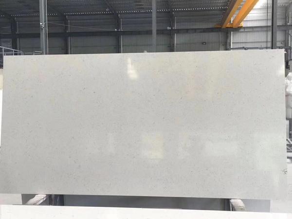 Carrara Verna Toffee Lite Pebbles Gray Quartz Slabs
