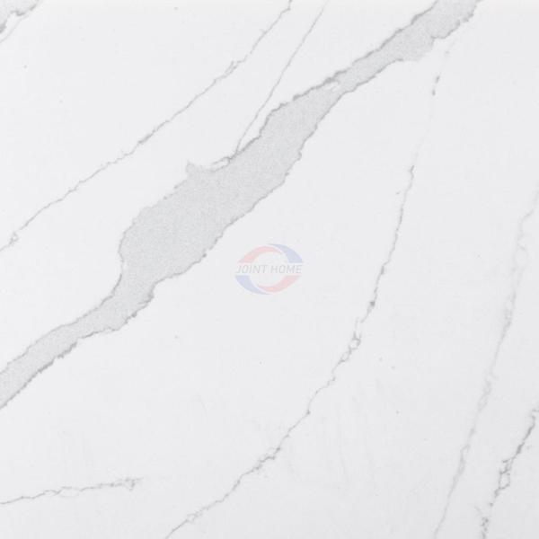 Classic Calacatta Eternal Quartz Slab For Counter Silestone 2